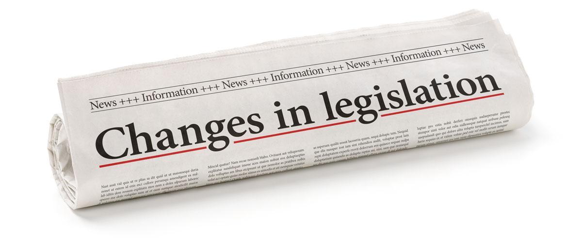 Change in Legislation