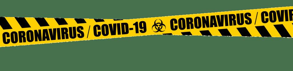 Covid 19 tape