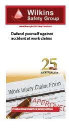 Defend yourself against accident at works claims