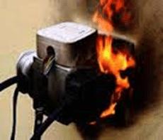 Socket fire