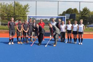 Taunton School hockey