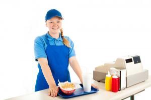 Teenage-worker