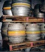 stacked barrells