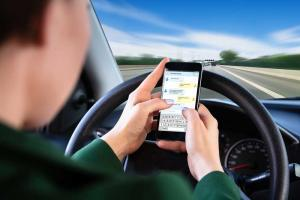 driving on mobile