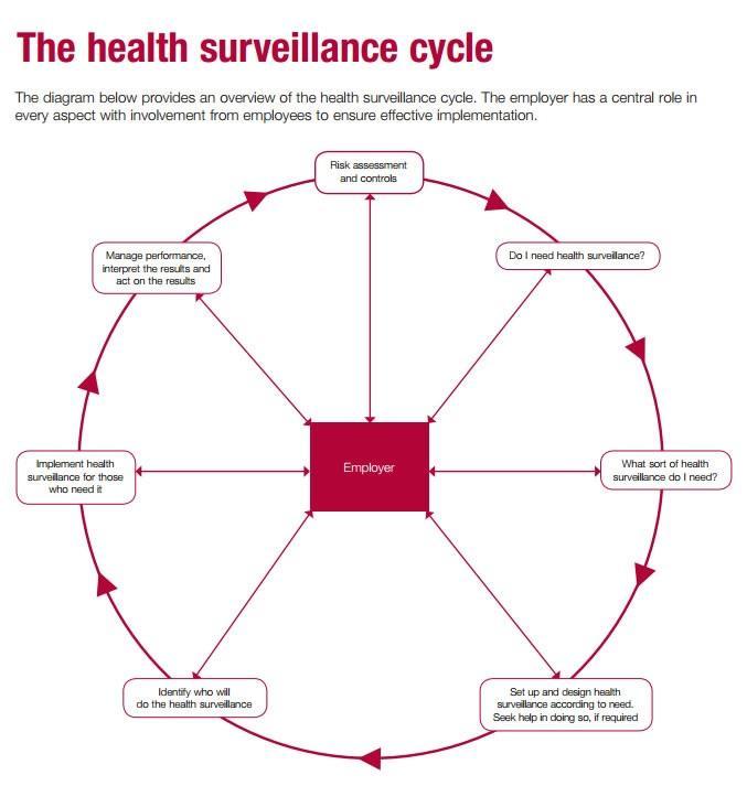 health surveillance cycle